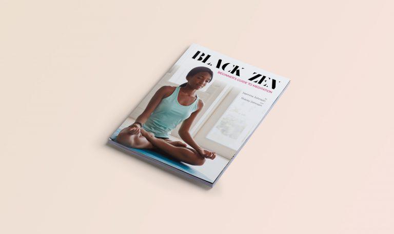 Magazine design Black zen