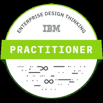 IBM Design thinking badge